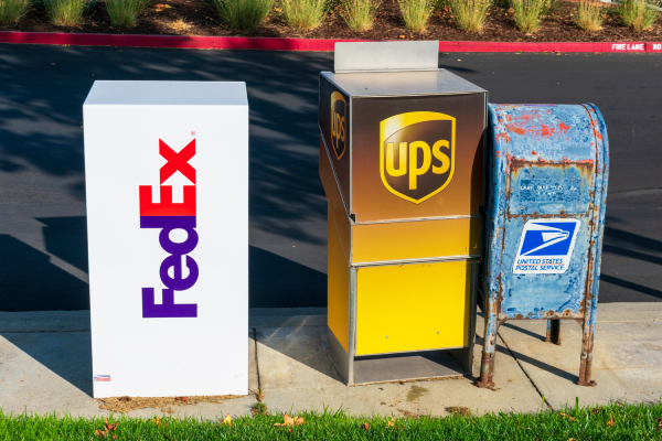 Fedex vs UPS vs USPS